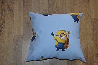 Úžitkový textil - Obliečka na vankúš Mimoni - 6598783_