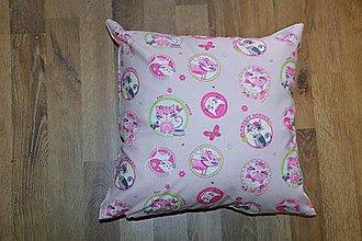 Úžitkový textil - Obliečka na vankúš s mačičkami - 6598788_