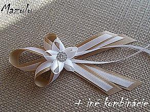 Pierka - biela&latté pierko pre rodičov - 6600790_