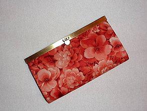 Peňaženky - Peňaženka 2 - Kvety 1 - 6606765_