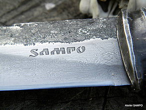 Nože - Yakut knife s monogramom 004/16 - 6617499_