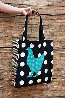 Nákupné tašky - Sliepka - 6616077_