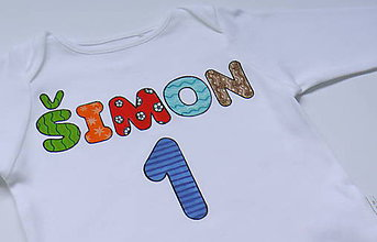 Detské oblečenie - Chlapčenské narodeninové body - 6624557_