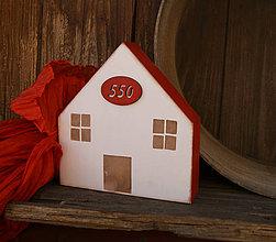 Dekorácie - Domček na vidieku - 6622580_