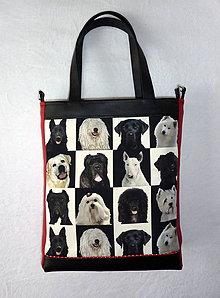 Veľké tašky - Taška - Pes, priateľ človeka. - 6624545_