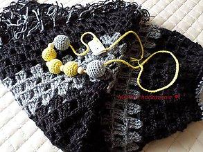 Iné oblečenie - Pončo - 6630885_