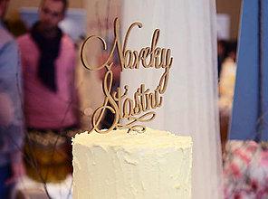 Grafika - Nápis na svadobnú tortu - 6630015_