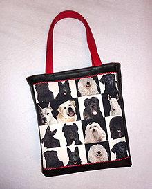 Veľké tašky - Taška - Pes, priateľ človeka 2. - 6629550_