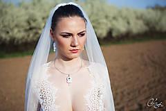 Sady šperkov - Simple White set...soutache - 6635002_