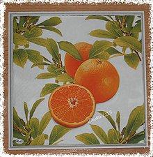 Dekorácie - Pomaranče - 6637090_