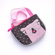 Detské tašky - Dievčenská kabelka s reflexnými prvkami - 6642924_