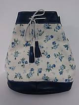 Kabelky - Blue Roses Bag - 6649172_