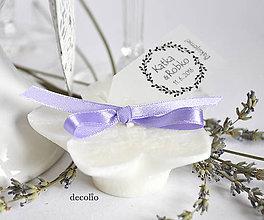Svietidlá a sviečky - Darček pre hostí - plávajúca sviečka #30 - 6648900_