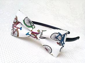 Ozdoby do vlasov - Funny bicycles headband - 6651803_