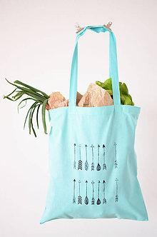 Nákupné tašky - Mint nákupná taška Indiánky - 6668695_