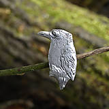 Odznaky/Brošne - Veľký vtáčik brošňa - 6678834_