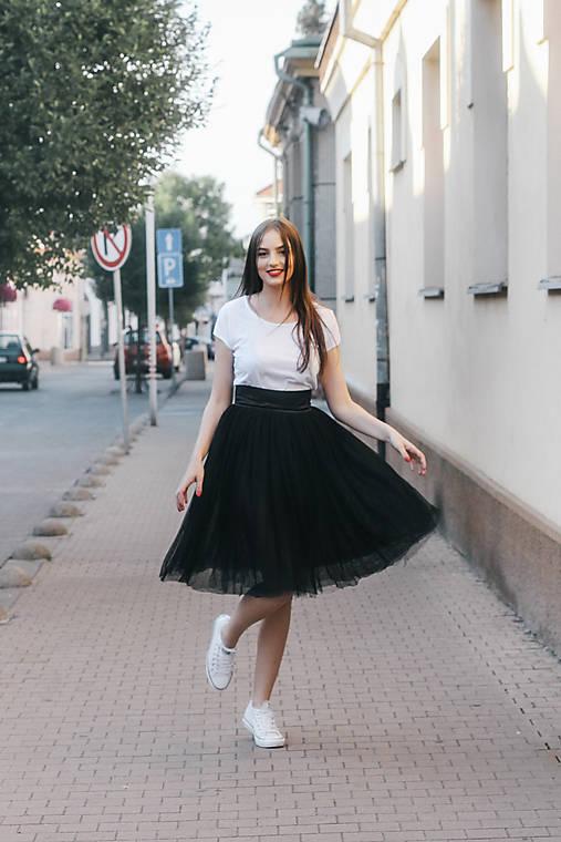 Sukne - Tylová sukňa - 6679825_