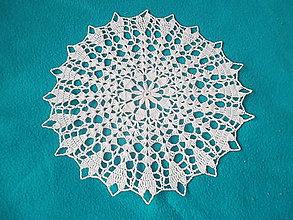 Úžitkový textil - Háčkovaná dečka - 6681257_