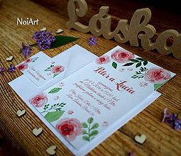 Papiernictvo - Svadobné oznámenie 1 - 6687112_