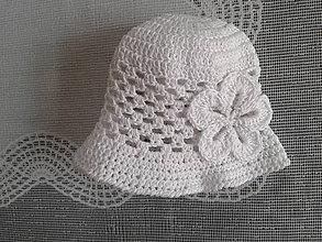 Detské čiapky - Bavlnený klobúčik - 6692444_
