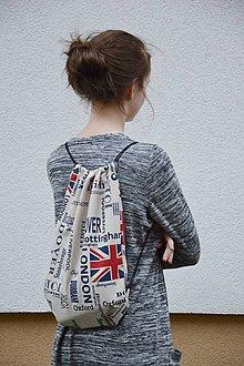 Batohy - Backpack anglické názvy miest - 6687850_