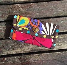 Peňaženky - Peňaženka Flower Power - 6690678_