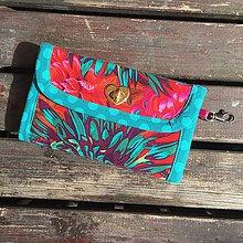 Peňaženky - Peňaženka Green Garden - 6690685_