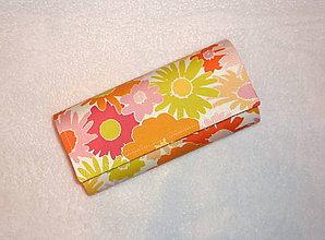 Peňaženky - Peňaženka - Rozkvitnutá záhrada 2. - 6687912_