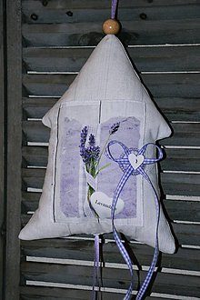Dekorácie - Levanduľový domček č. 1 - 6695919_