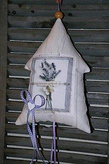 Dekorácie - Levanduľový domček č. 2 - 6695921_