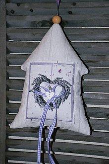 Dekorácie - Levanduľový domček č. 3 - 6695933_