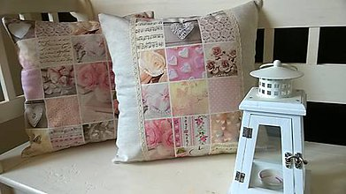 Úžitkový textil - Srdiečko provens - 6695374_