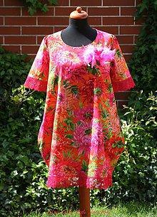 Šaty - Ó, šaty!  Pink Florals - 6694021_