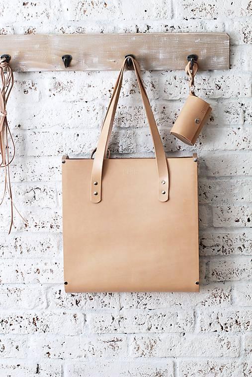 Veľké tašky - Taška SHOPPER BAG NATURAL - 6696777_