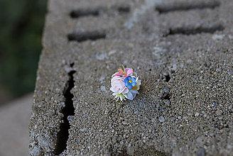 Prstene - Kvetinový prstienok \