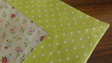 Úžitkový textil - Obrúsok na zelenej lúke - 6706098_