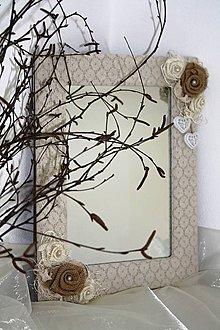 Zrkadlá - Vintage zrkadlo - 6717088_