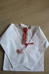 - Chlapčenská folklorna košeľa - 6720349_