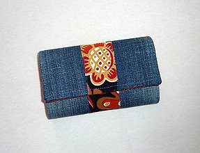 Peňaženky - Peňaženka - Riflová. - 6720509_