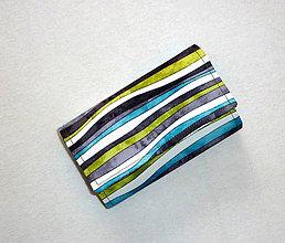 Peňaženky - Peňaženka - Farebný vodopád. - 6720594_