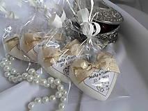 Darčeky pre svadobčanov - Darčeky pre svadobných hostí - sada na želanie - 6728240_
