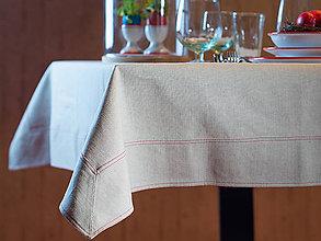 Úžitkový textil - Linum Ľanový obrus 145x150cm - 6729782_