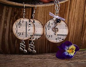 Sady šperkov - Stará hudba 2 / sada - 6735694_