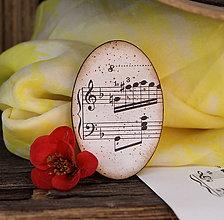 Odznaky/Brošne - Stará hudba / brošňa - 6735776_