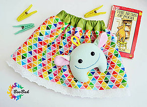 Detské oblečenie - Detská sukienka veselá a hravá - 6737381_