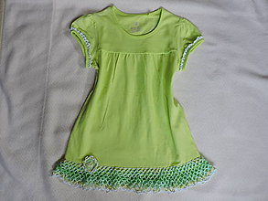 Detské oblečenie - zelienkavé šatočky 2 - 6737988_