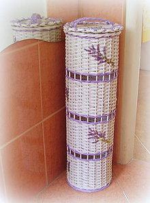 Košíky - Zásobník levanduľa - 6739516_