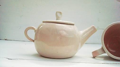 Nádoby - Porcelánová konvička - 6745848_