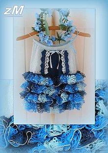 Sukne - Volánová sukňa. - 6746145_
