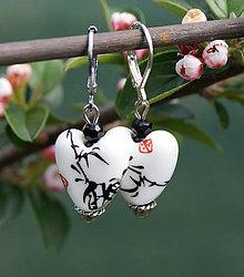 Náušnice - Čínsky porcelán / náušnice - 6761339_